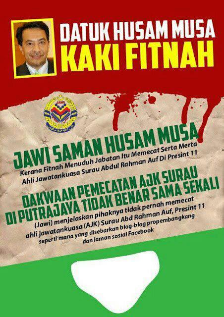 JAWI Saman Husam?!