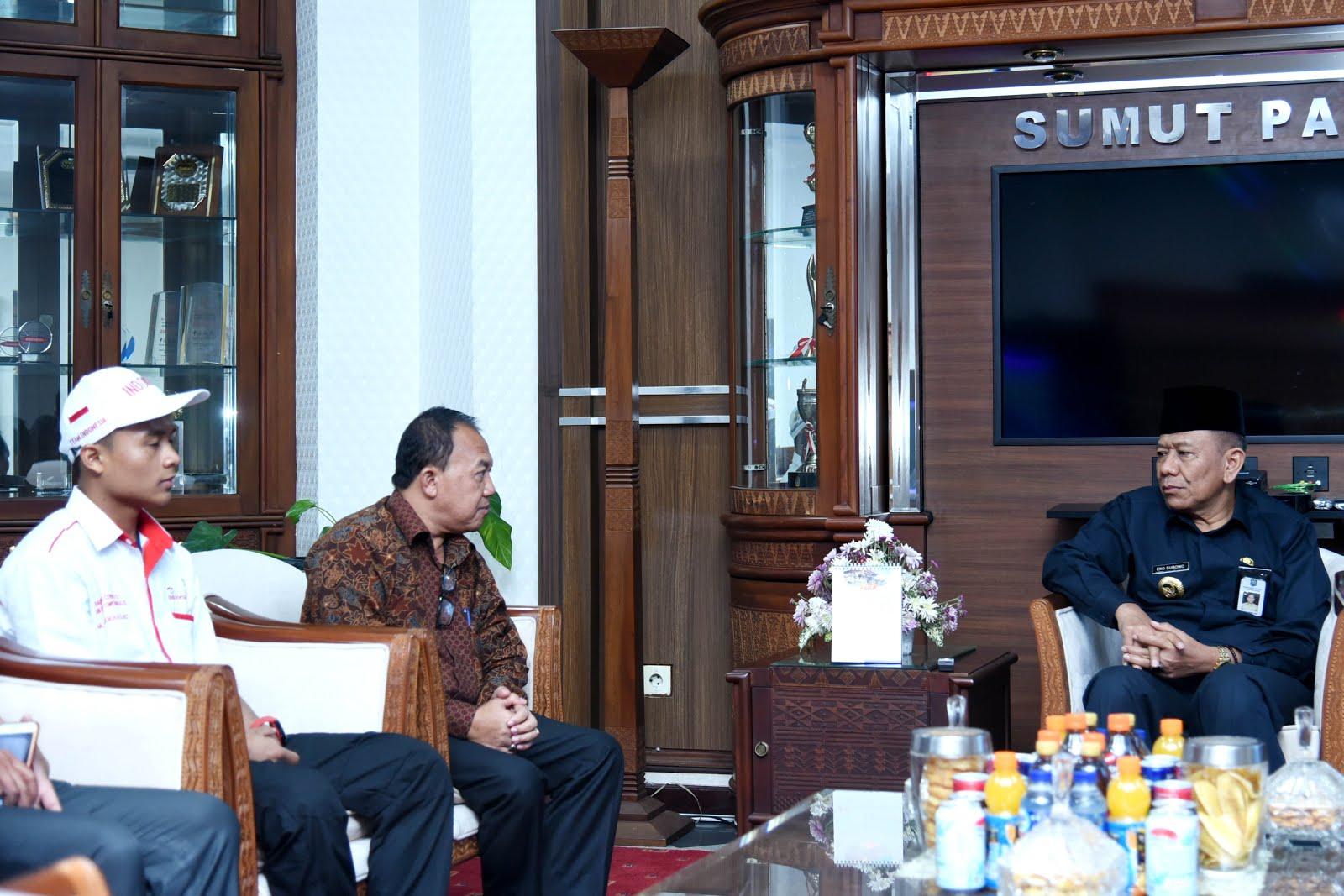 Mukmin Azis Wakili Indonesia Lomba ASEAN Skills Competition 2018 di Bangkok, Pj Gubsu : Prestasi Azis Motivasi Siswa