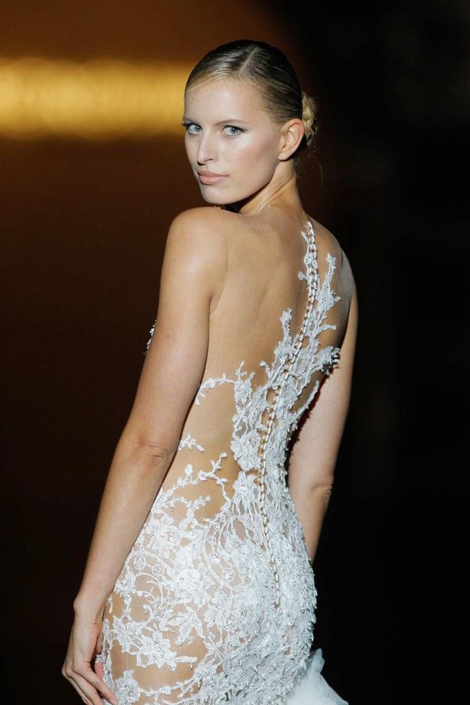el vestido de novia más provocador de pronovias