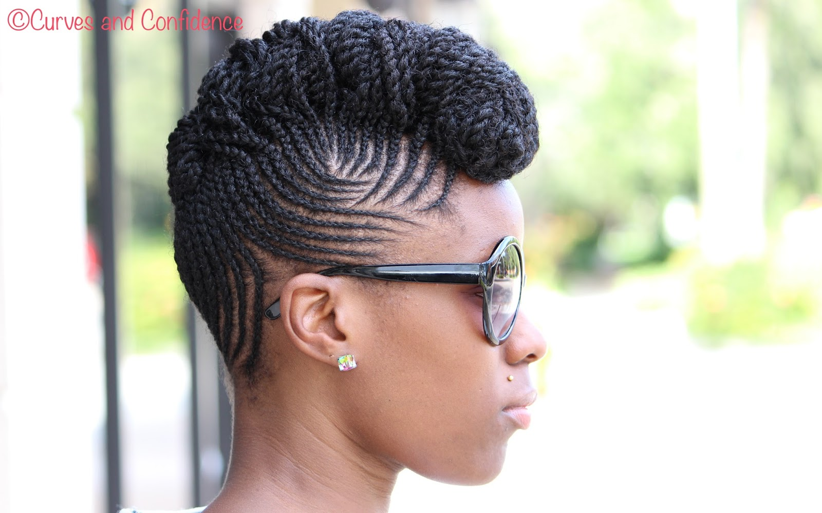 Natural Hair On Pinterest Flat Twist Cornrows And