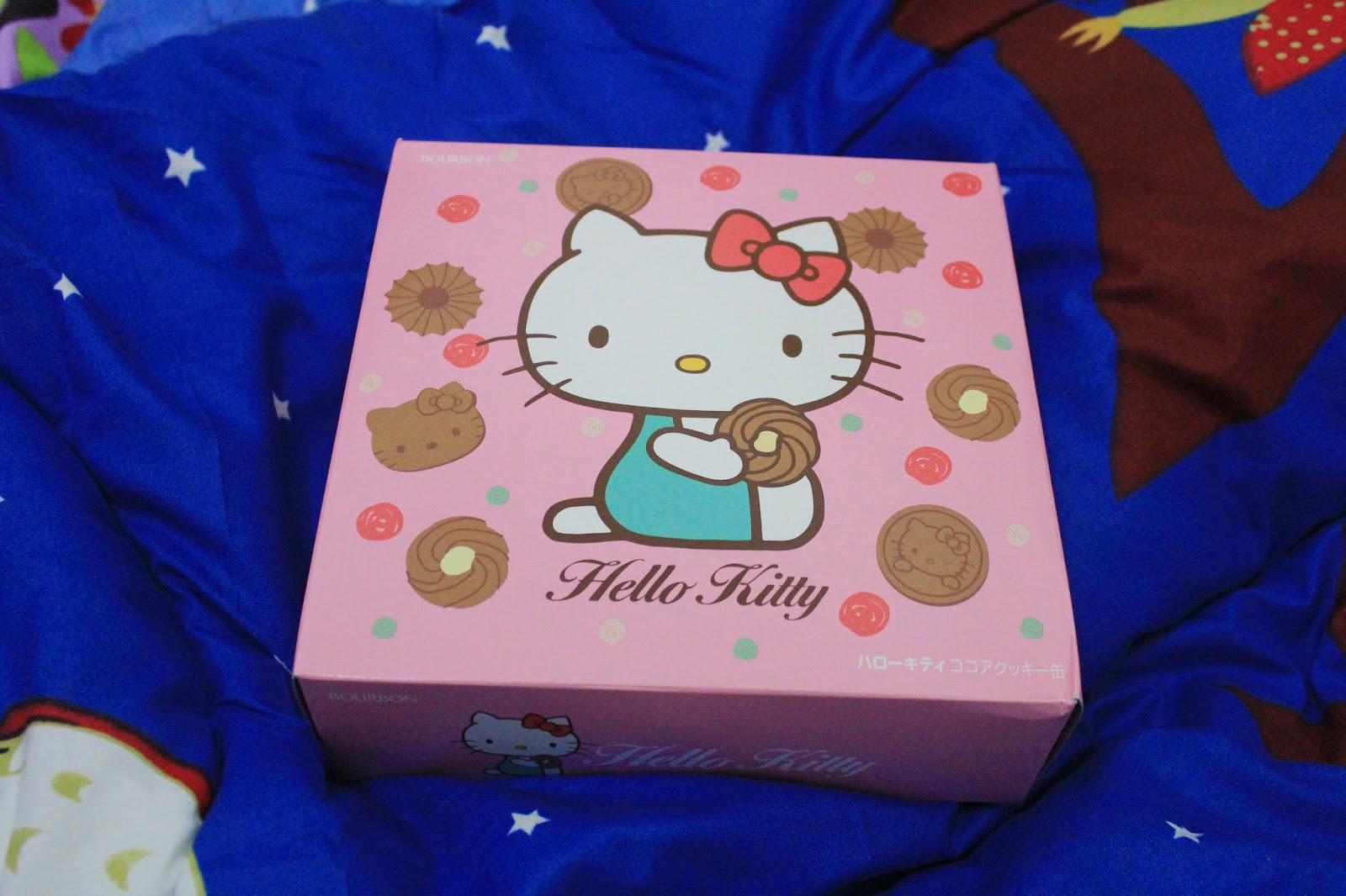 bourbon hello kitty cocoa cookies