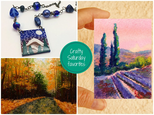 Crafty Saturday Show and Sell Favorites: Shop for one of a kind items and support small, handmade and vintage businesses