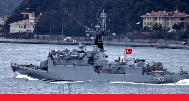Τουρκική κορβέτα έφτασε μεχρι στις ακτές της Αττικής!
