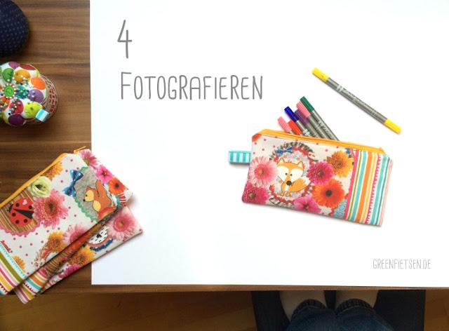 Der Weg des Handmade-Produkts - Fotografieren