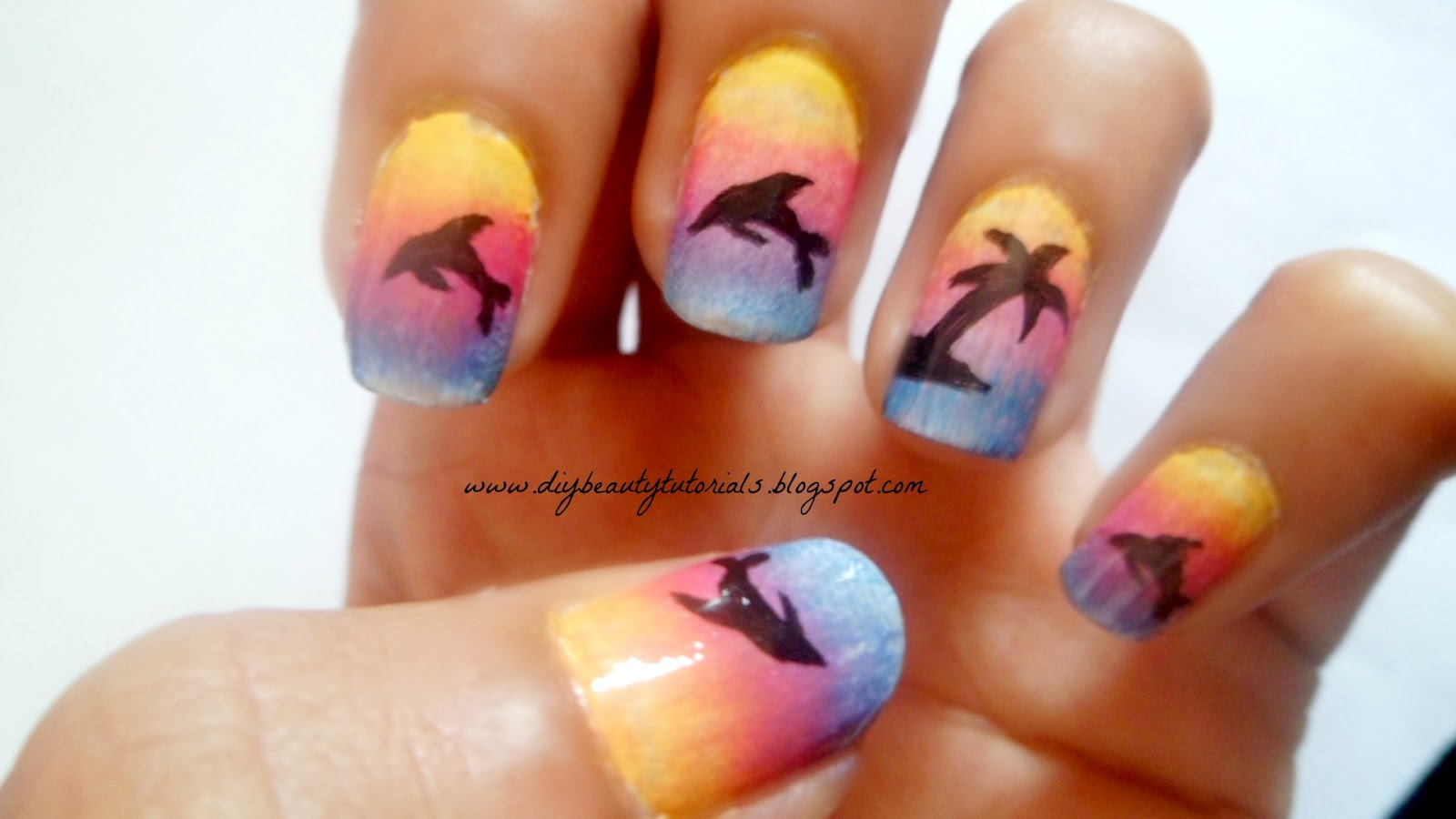 Easy nail designs for short nails tumblr