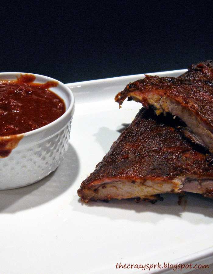 Bourbon BBQ Sauce - a rich, bourbon flavored BBQ sauce made as spicy ...