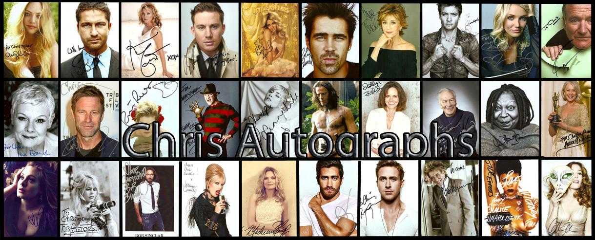 Chris Autographs
