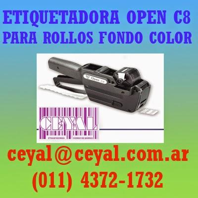 Rollo etiqueta 50mm x 25mm para Sistemas tango