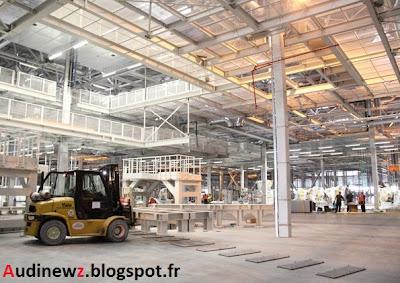 Industrie : Audi a inauguré les travaux deson usine en Hongrie