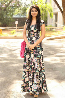 Palak Lalvani in Long Full Length Deep Neck Gown Spicy Pics