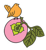 I love Pink Persimmon Stamps!