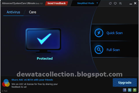 Advanced SystemCare Ultimate 6.0.8.289 Final + Patch
