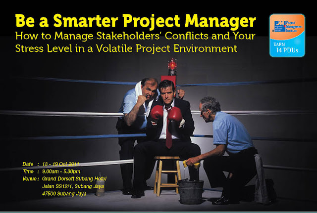 Be a Smarter Project Manager poster