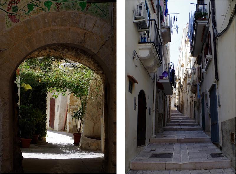 Impressionen aus der Altstadt von Vieste (Gargano, Apulien)
