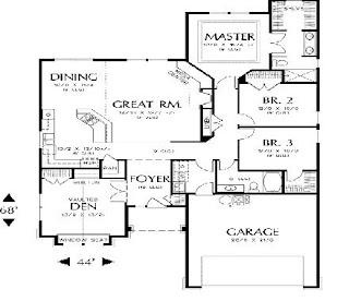 casas de una planta modernas planos de casas modernas
