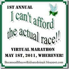 First Virtual Marathon!