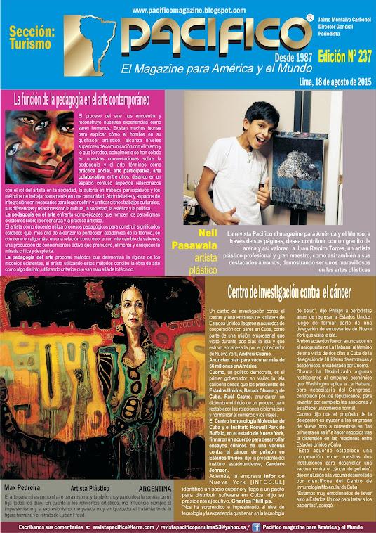 Revista Pacífico Nº 237 Turismo