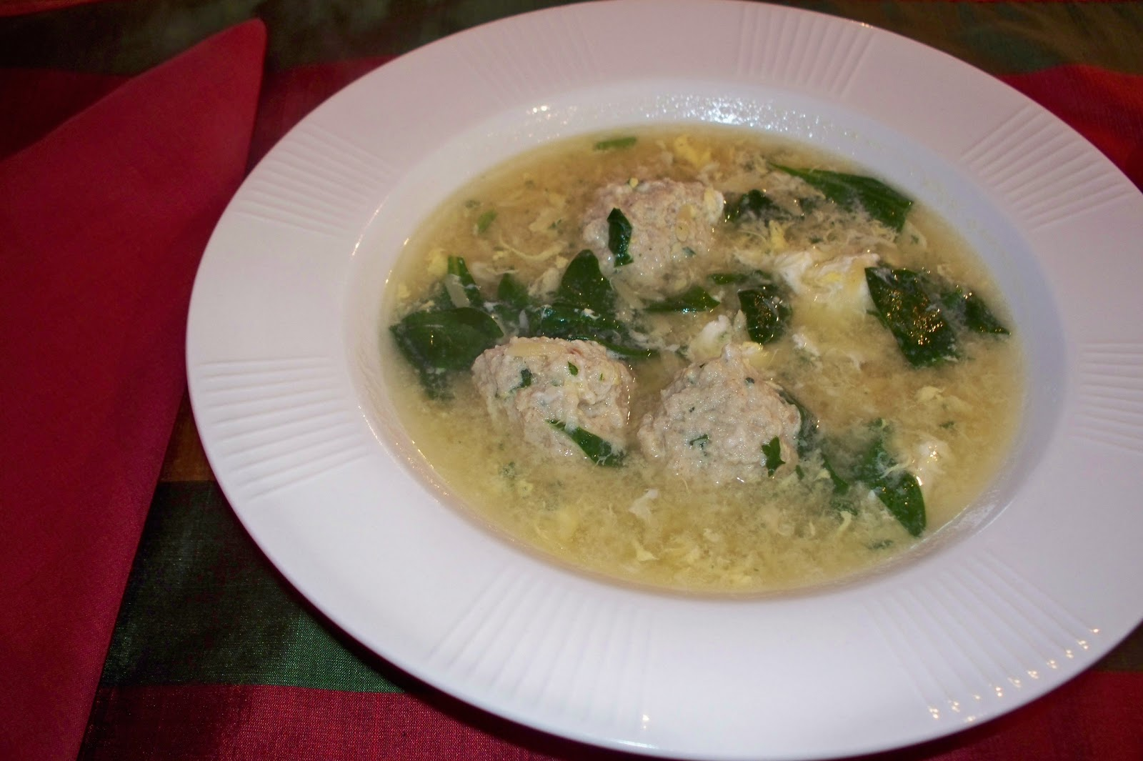 THE FOOD OF LOVE: WEDDING SOUP WITH STRACCIATELLA