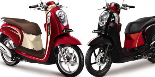 Harga dan Spesifikasi Model motor Honda Scoopy F1