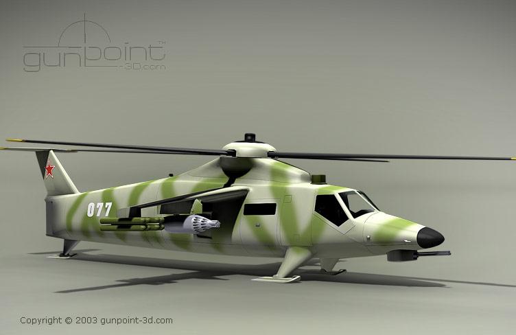 Mi-42 Assault- Transport Helicopter