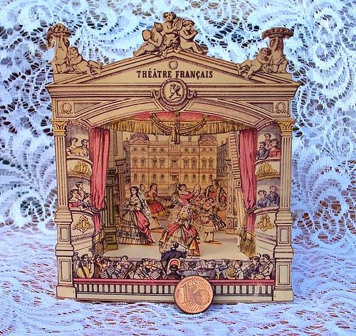 Puppenhaus Tapete Ausdrucken : Victorian Toy Theatre