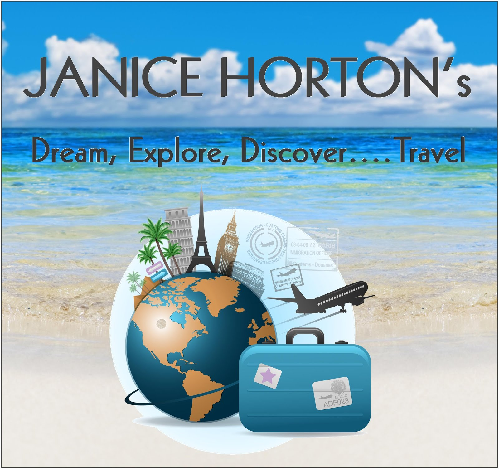 Dream, Explore, Discover...Travel! My NEW look travel feature for LLm Ezine!