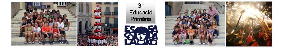 3r Educació Primària  Escola Sadako