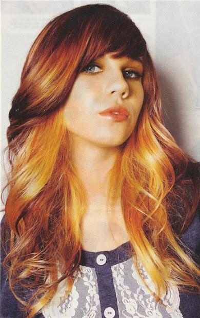 hair color inspiration golden