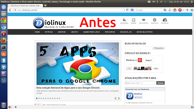 """Firefox com visual de Firefox"""