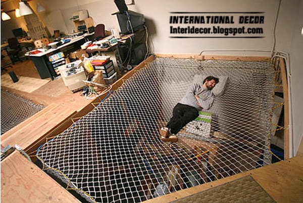 bed giant hammock, creative beds for modern interior