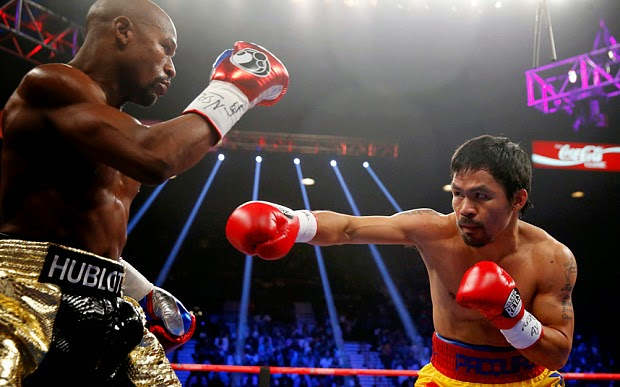 Mayweather vs Pacquiao in Las Vegas