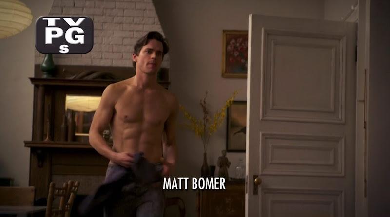Matt Bomer Shirtless in White Collar s3e03