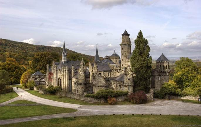 castelul lowernburg din germania