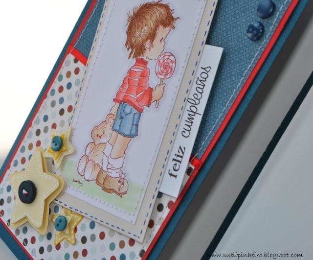 Tarjeta para niño