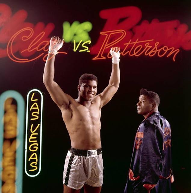 """Poster """"Muhammad Ali vs. Floyd Patterson"""", 1965"""