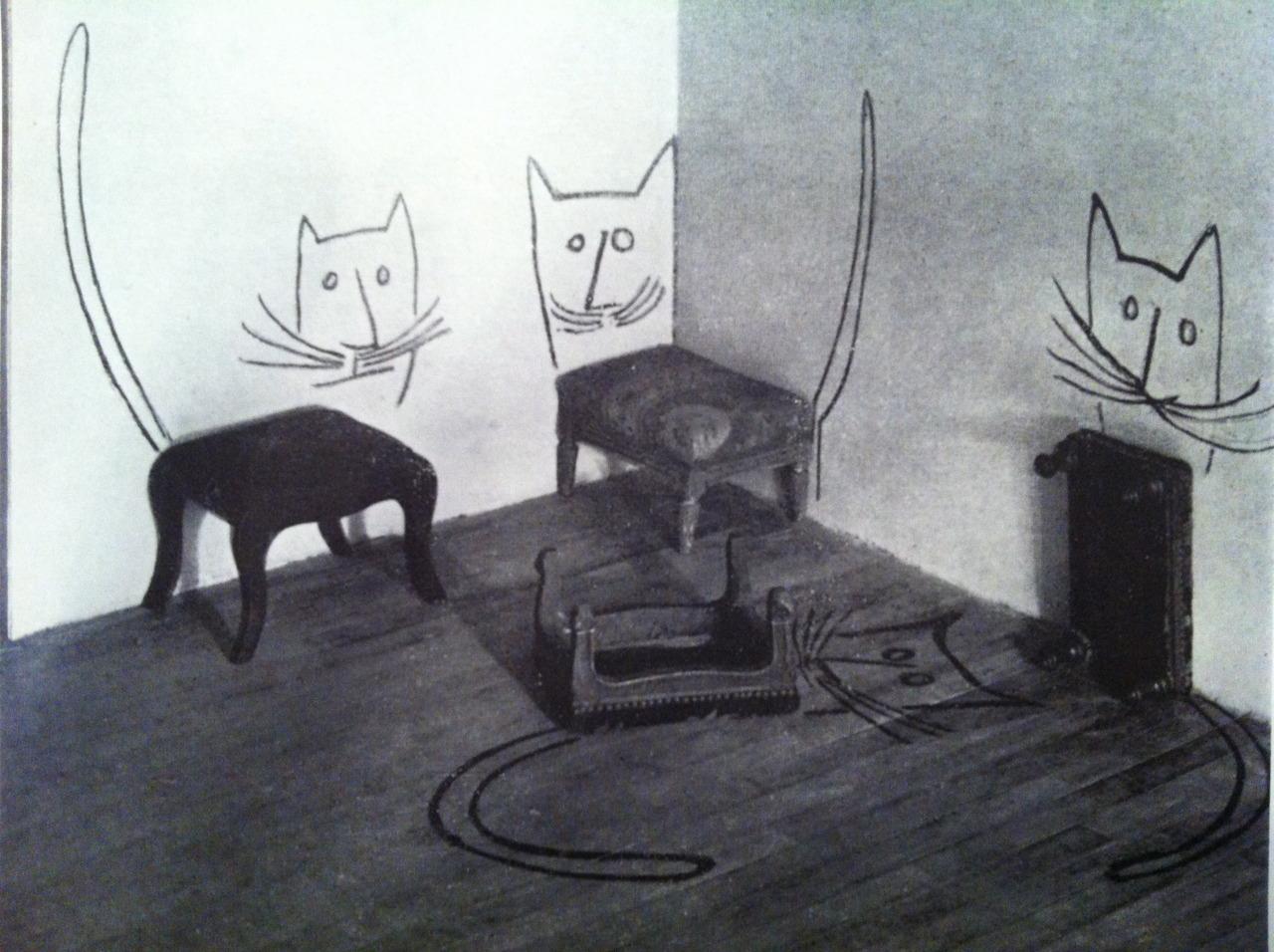 shu illustration saul steinberg. Black Bedroom Furniture Sets. Home Design Ideas