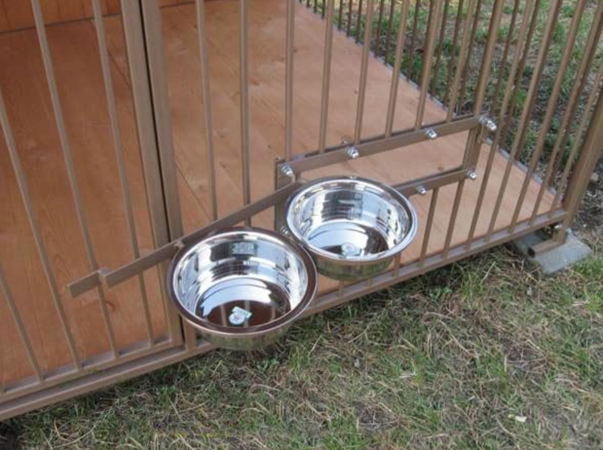 Вольер для собаки своими руками из подручных материалов