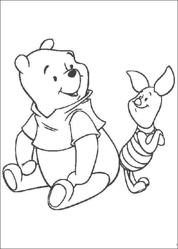 Fun Coloring Pages: Winnie the Pooh Coloring Pages