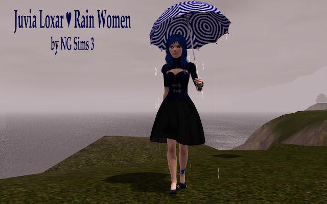 Готовые персонажи: персонажи книг/фильмов/сериалов/игр/аниме/мультфильмов. - Страница 2 Juvia+loxar+sims+-+rain+women