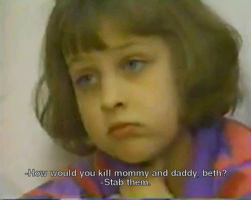 child of rage Beth thomas featured on a 1992 documentary called child of rage, which featured shocking footage of her telling her psychiatrist she wanted to kill her parents and brother in the dead of night.