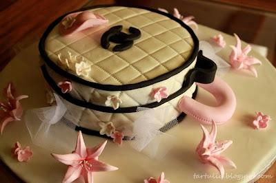 tarta sombrerera para una novia
