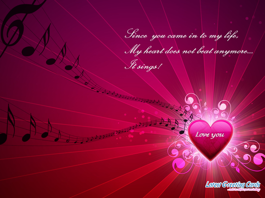 Free Animation Wallpaper 88: Free Valentine Wallpaper