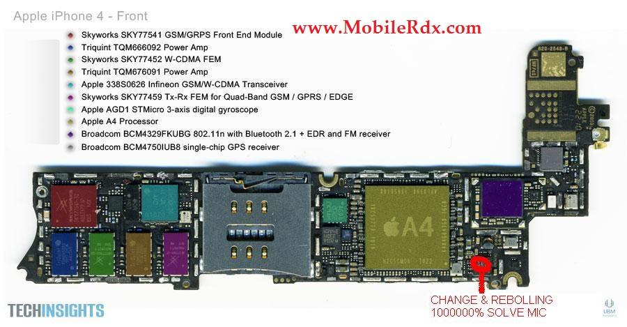 iPhone 4 Schematic Diagram