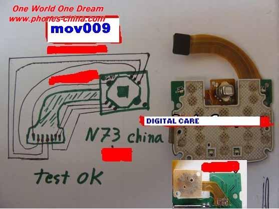 Nokia N73 Joystick