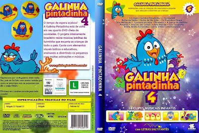Filme Galinha Pintadinha 4 DVD Capa