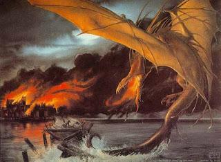 Dragón Ocre