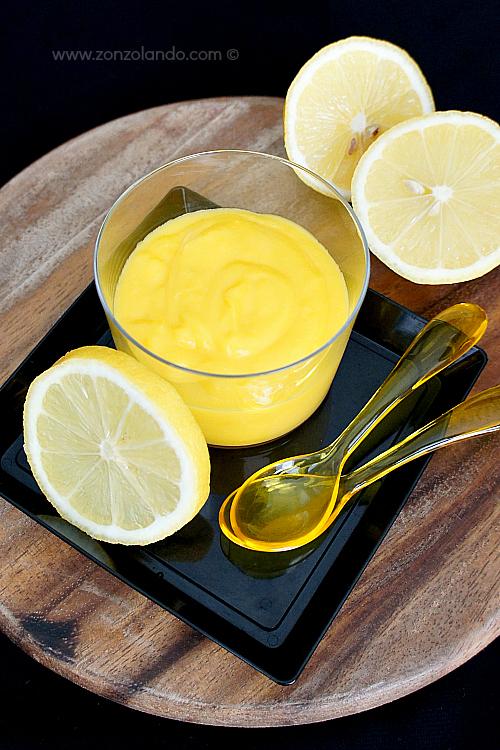 Lemon curd recipe Ricetta crema di soli limoni
