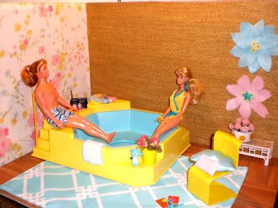 Барби ванная большая ванная для барби