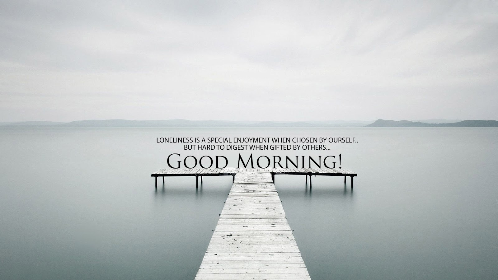 Lovely Good Morning HD Quotes Wallpaper