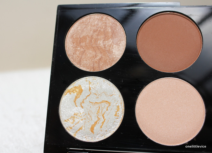 drugstore contour palette: one little vice beauty blog